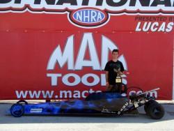 Caleb Burton (Midwest Jr. Super Series - O'Reilly Raceway Park, Indy)